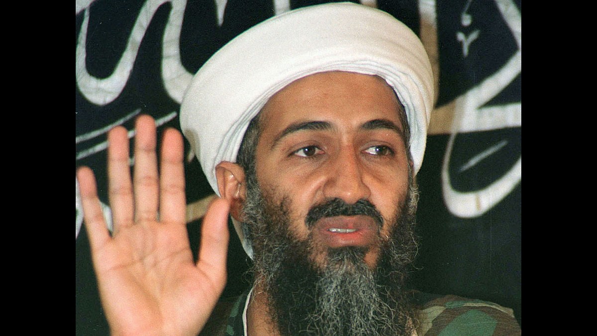 Osama bin Laden speaks at a news conference in 1998 file photo. (Photo: Reuters)