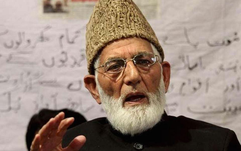 Kashmiri Separatist leader Syed Ali Shah Geelani. (Photo: PTI)
