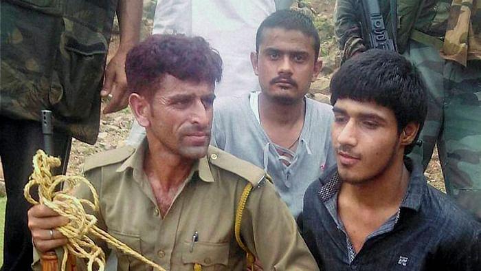 Terrorist captured from Udhampur, J&K. (Photo: PTI)