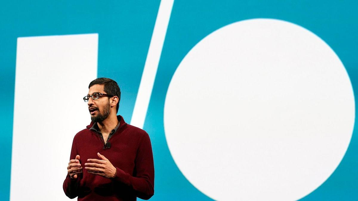 Sundar Pichai, CEO, Google Inc. (Photo: Reuters)