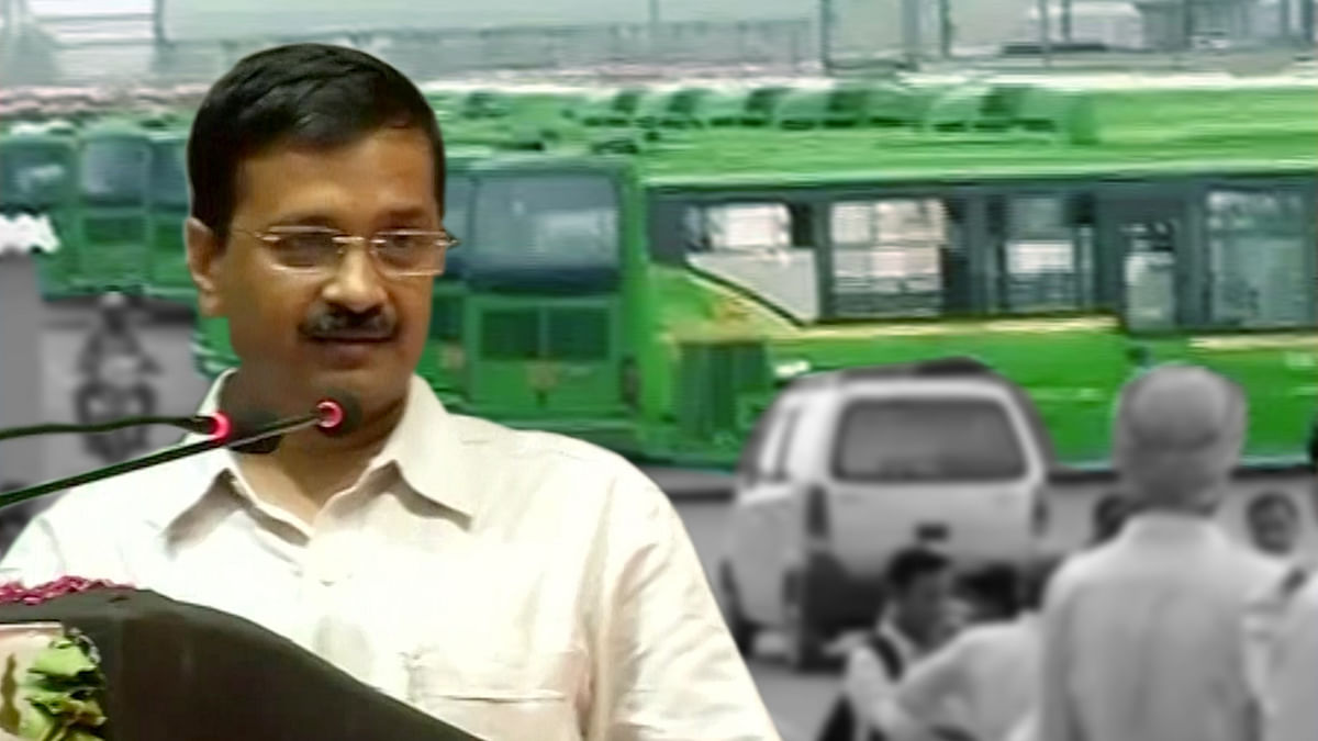 Delhi Chief Minister Arvind Kejriwal in Delhi. (Photo: ANI)