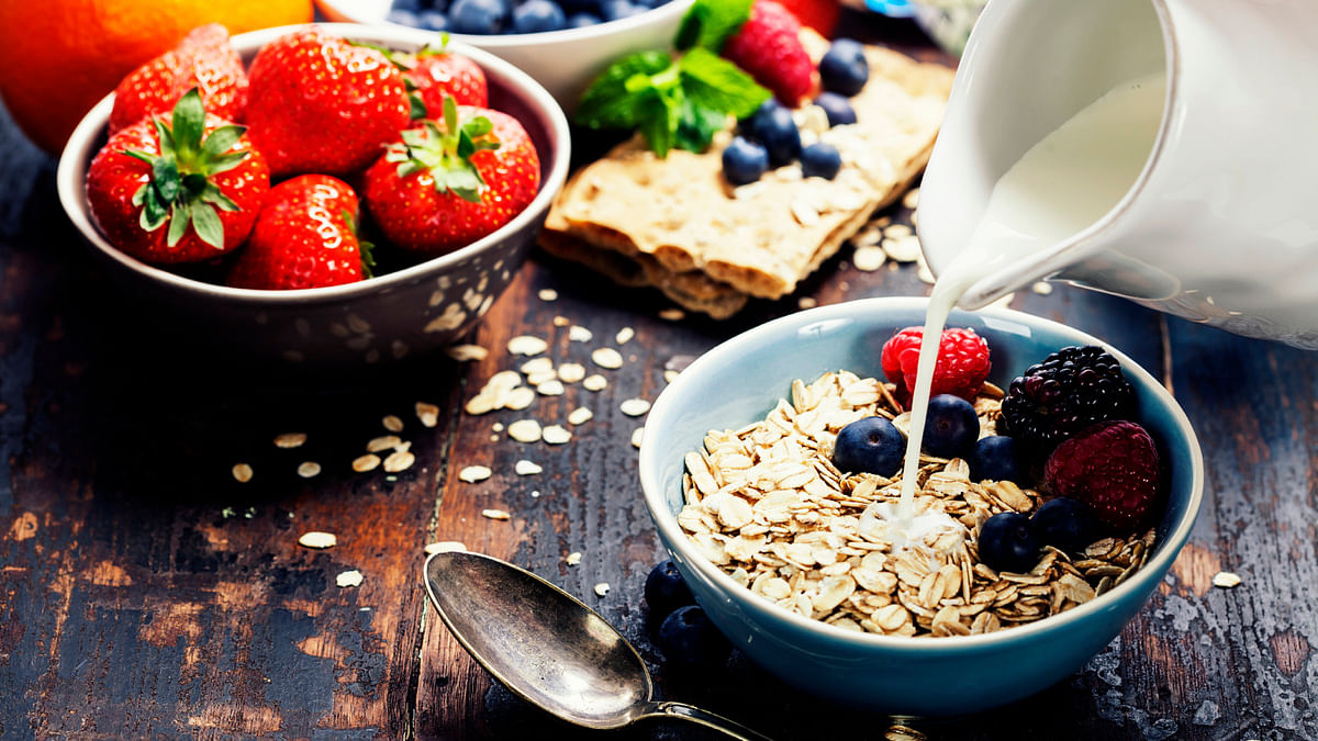A healthy breakfast is the best way to start your day.