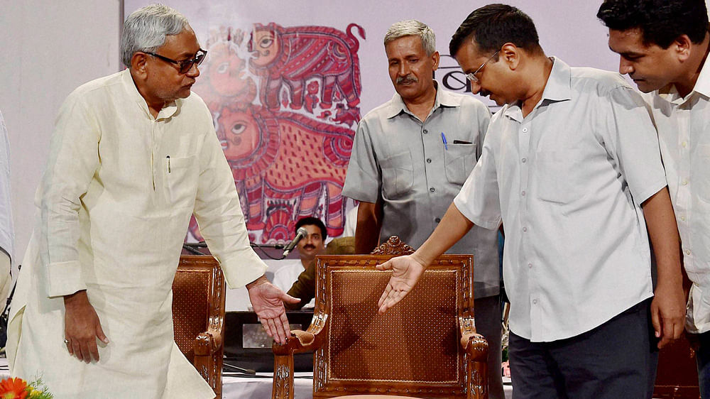 In the early part of PM Modi's first term, Nitish Kumar and Arvind Kejriwal appeared as the first major challengers