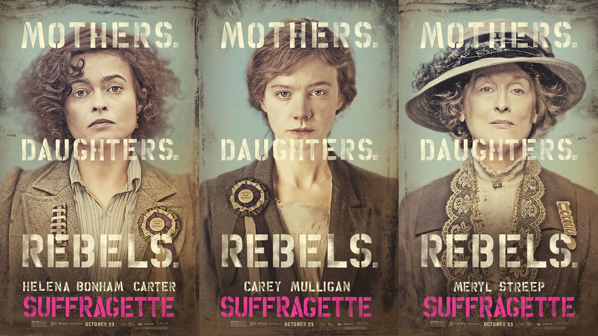 """How badass are they? The cast members of <i>Suffragette</i> (Photo: Facebook/<a href=""""https://www.facebook.com/SuffragetteMovie?fref=ts"""">Suffragette</a>)"""