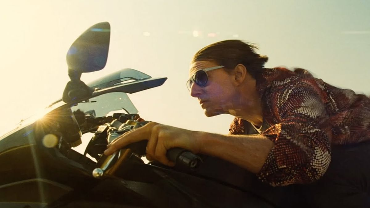Tom Cruise in <i>Mission: Impossible - Rogue Nation</i>