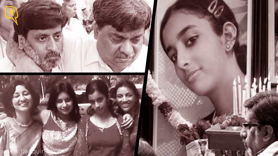 Clockwise from top left: Rajesh and Dinesh Talwar; Rajesh at the memorial service for Aarushi; the Talwars in happier times (Photo: Vandana Talwar).