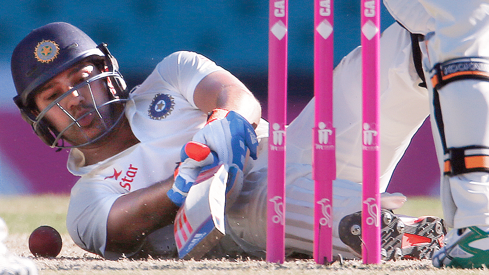 With scores of 9 and 4 in the first test against Sri Lanka, Rohit Sharma's spot in the India XI should be under threat. But it surprisingly is not. (Photo: Reuters)