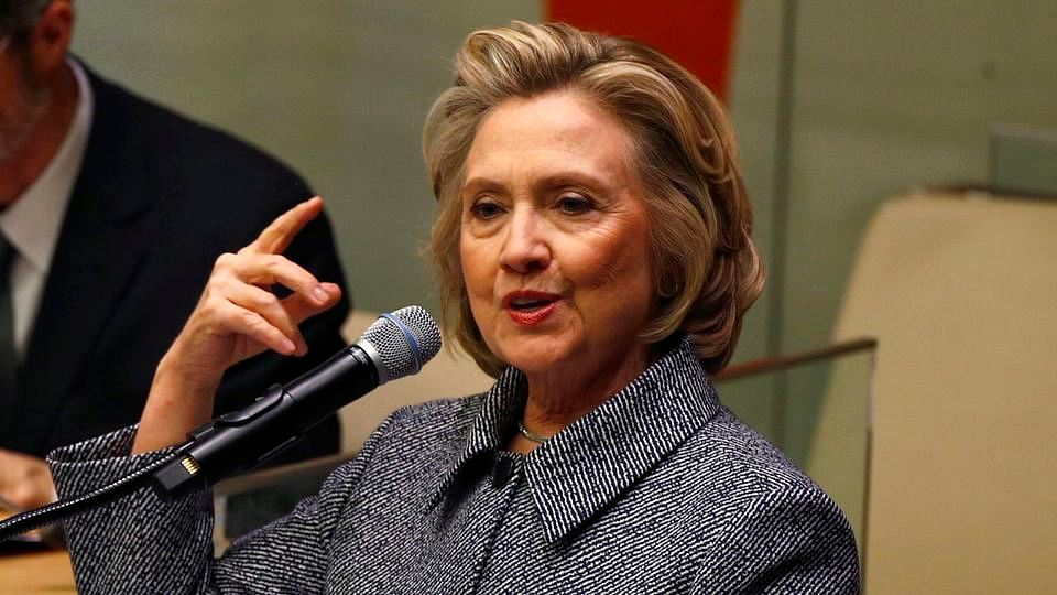 File photo of Hillary Clinton. (Photo: Reuters)