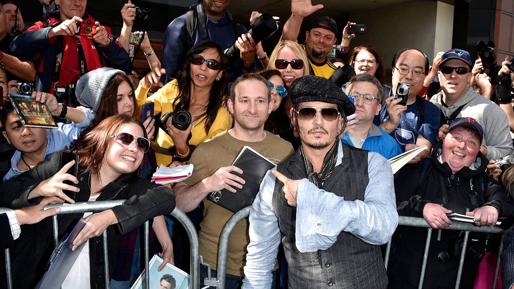 "Johnny Depp at the Toronto International Film Festival (Photo: <a href=""https://www.facebook.com/BlackMassMovie/photos/pb.723081894465589.-2207520000.1442464345./851900534917057/?type=1&amp;theater"">Facebook</a>)"