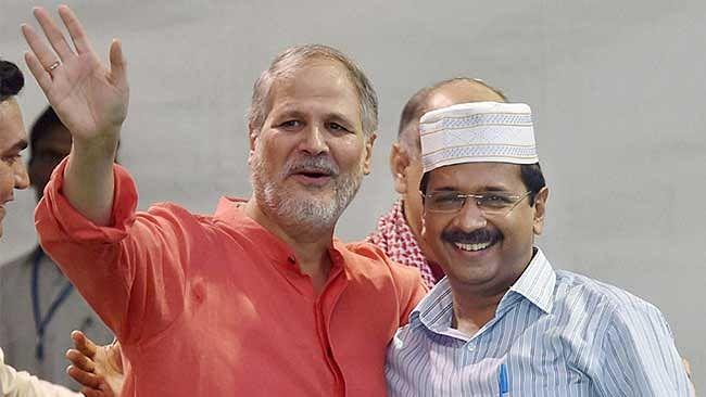 Najeeb Jung and Arvind Kejriwal. (Photo: PTI)