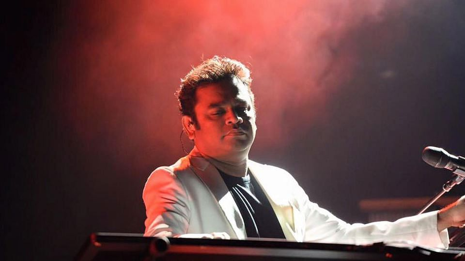 AR Rahman during a performance.