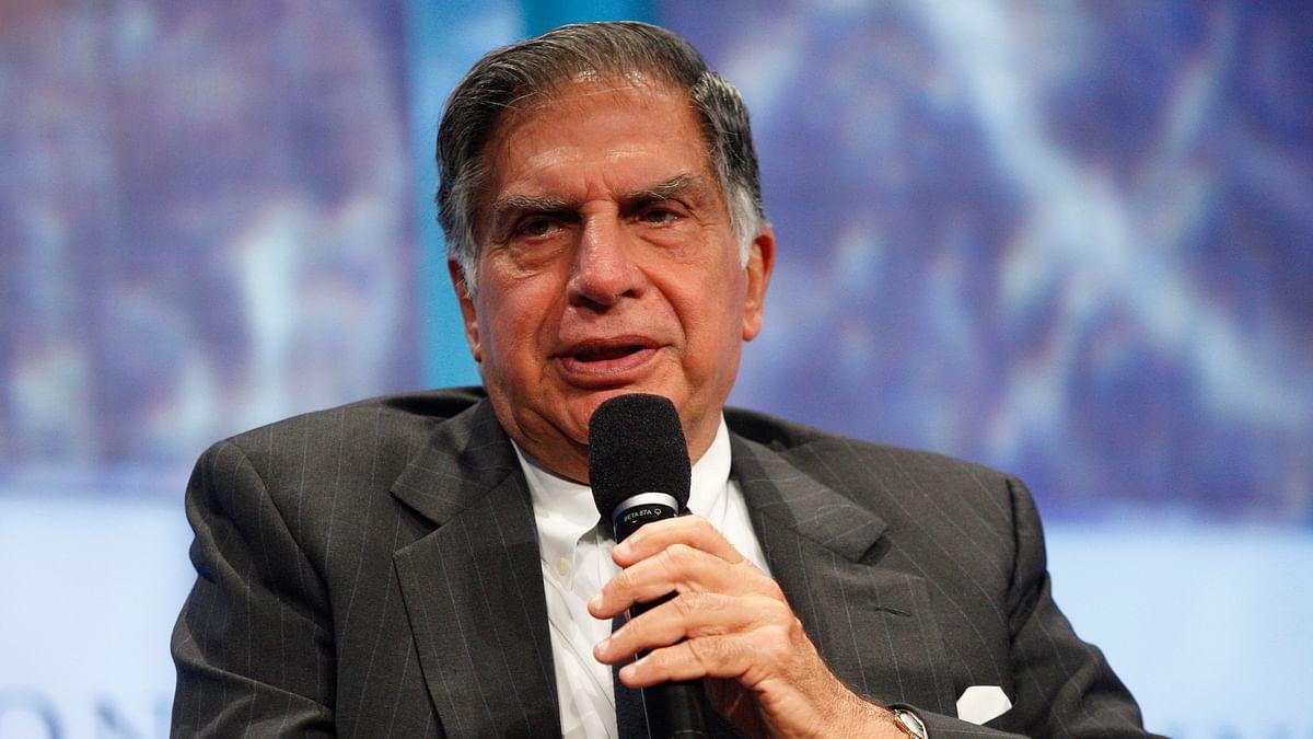 TATA Chairman Ratan Tata.
