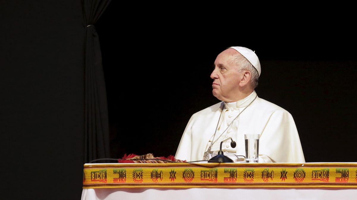 Photo of Pope Francis used for representation.