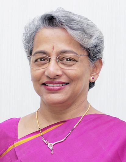 Allahabad Bank CMD Shubhalakshmi Panse.
