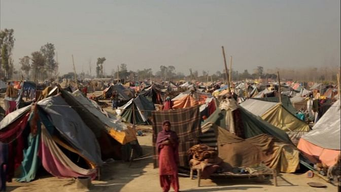 Over 60 people were killed and about 50,000 were left homeless in the 2013 Muzaffarnagar riots. (Photo: Screengrab from 'Muzaffarnagar Baaqi Hai')