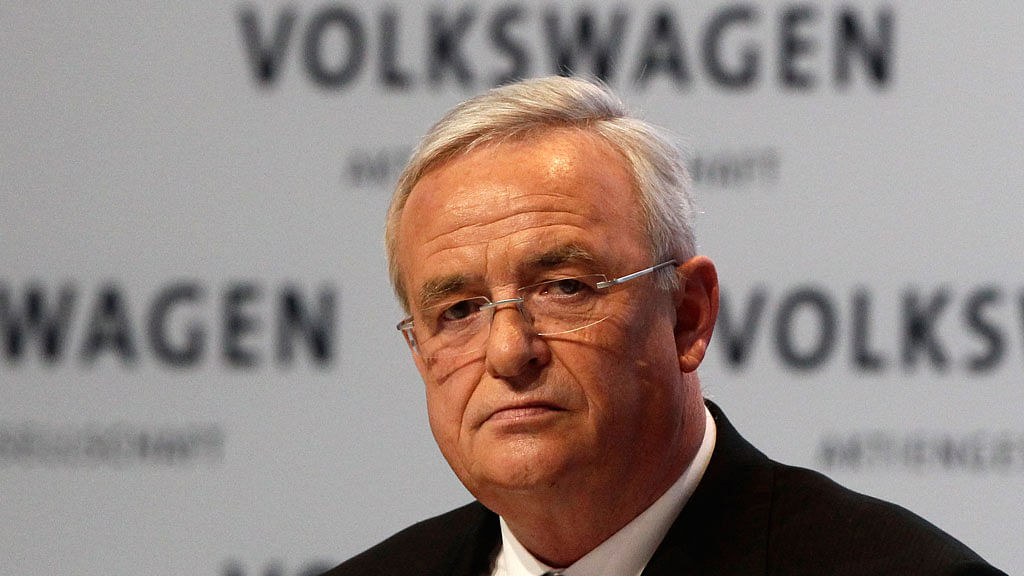 Volkswagen Chief Executive Martin Winterkorn is back in the news.