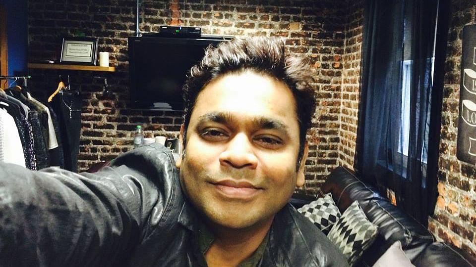 AR Rahman takes a selfie right before a concert. (Photo: Facebook/ARRahman)