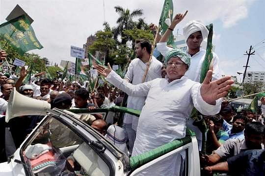 Lalu still commands an impressive vote bank and is a crowd puller. (Photo: PTI)