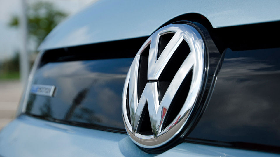 Volkswagen emblem in close up. (Photo: iStock)