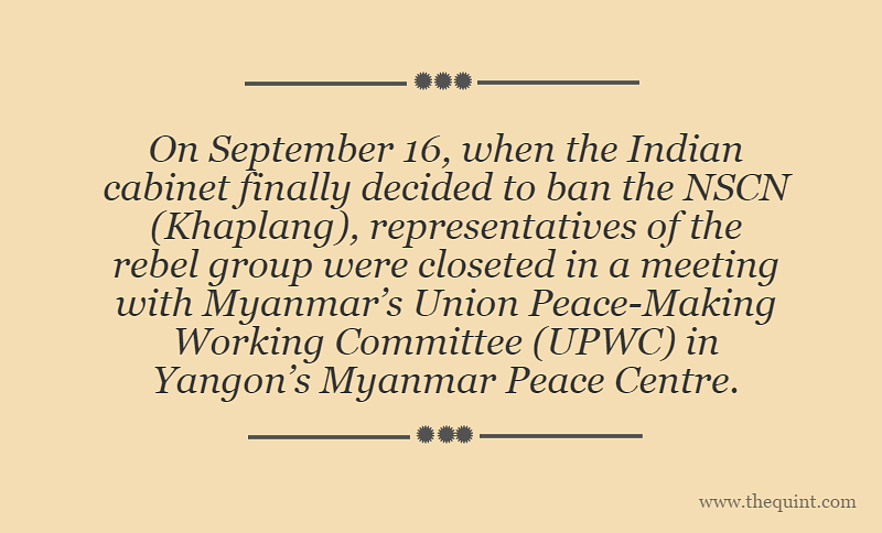 Banning The NSCN(K): Has India Lost The Plot In Myanmar?