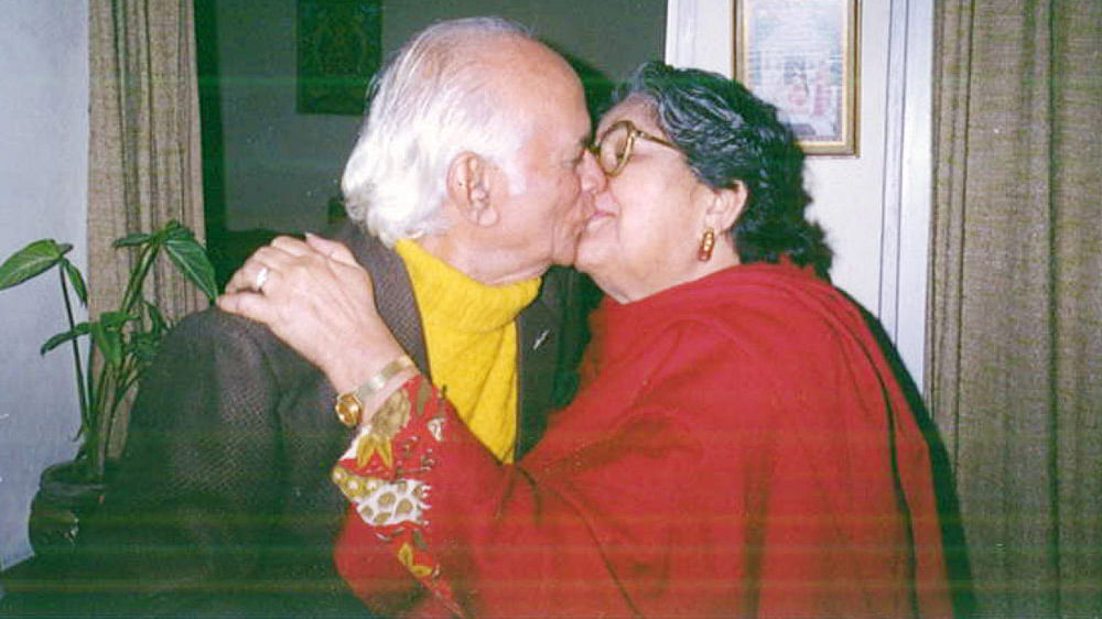 Col PR Jesus with the love of his life, Kunti. (Photo: Rohit Khanna)