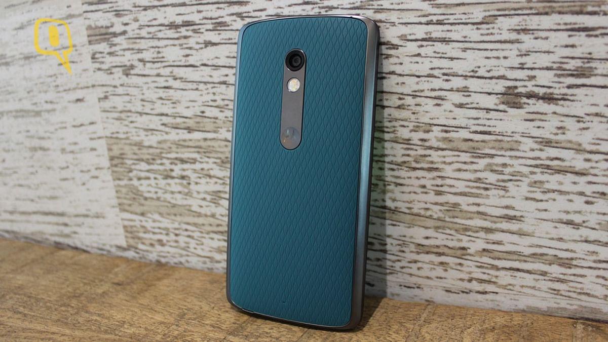 Motorola Moto X Play. (Photo: The Quint)