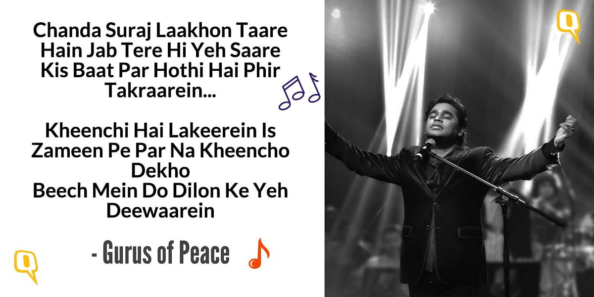 AR Rahman's Lyrical Reply to the VHP and the Fatwa