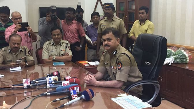 Ahmed Javed, the Mumbai Police commissioner.  (Photo: Chandan Nandy)