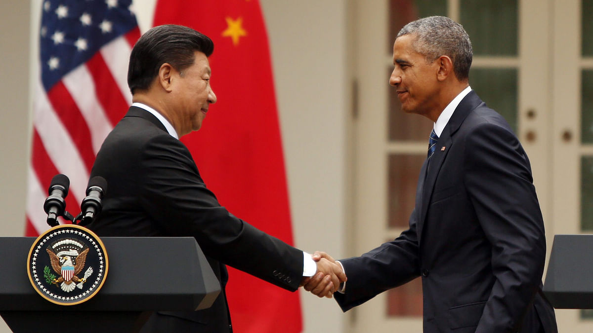 Obama and Xi made advances in working together on climate change and reconciliation process in Afghanistan. (Photo: Reuters)