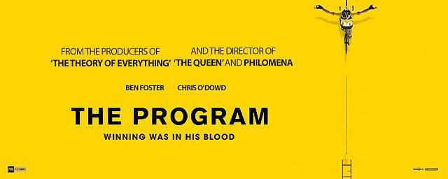 A poster of <i>The Program</i>