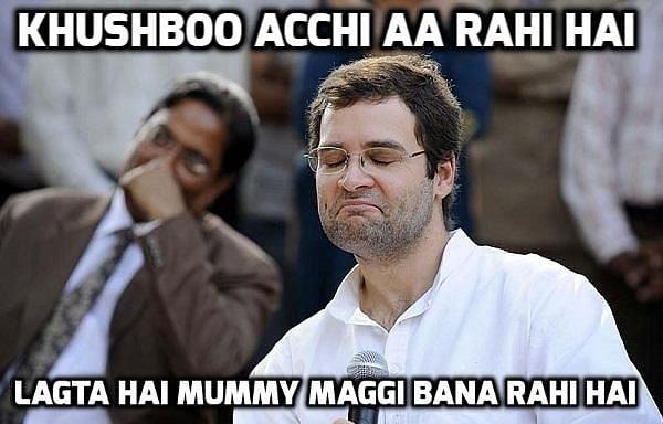 "Maggi, I miss you (Photo: <a href=""http://www.mindthenews.com/maggi-ban-rahul-gandhi-meme/"">www.mindthenews.com</a>)"