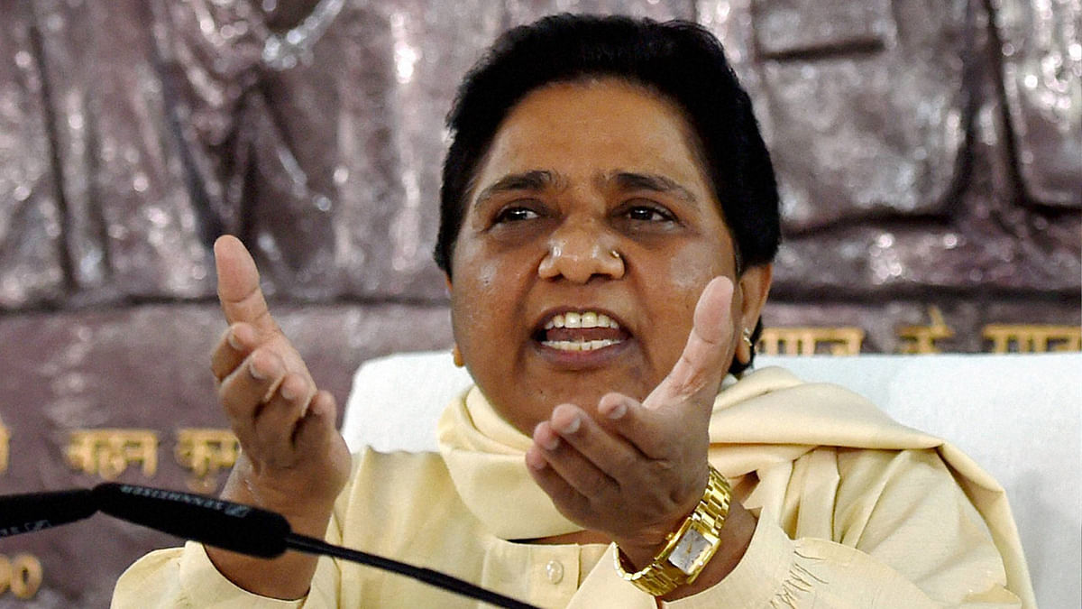 BSP supremo Mayawati has also been a victim of the 'Yamuna jinx' (Photo: PTI)