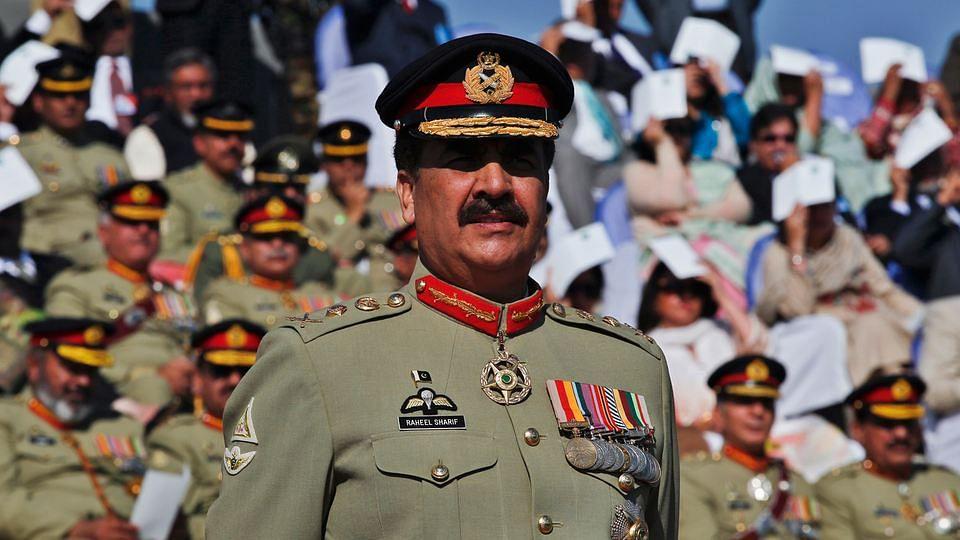File photo of Pakistan Army Chief Raheel Sharif. (Photo: Reuters)
