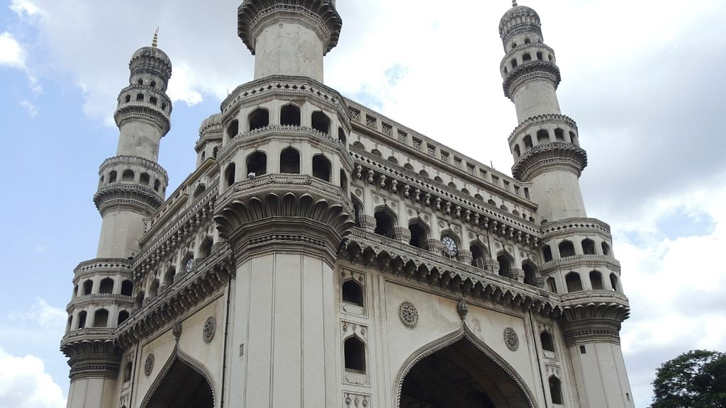The Charminar, Hyderabad's most iconic monument.