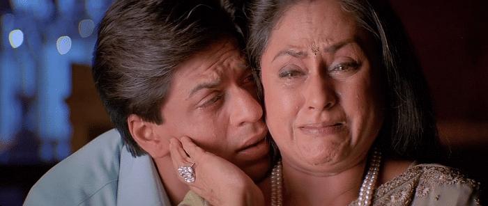 Jaya Bachchan and Shah Rukh Khan in <i>Kabhi Khushi Kabhi Gham</i>
