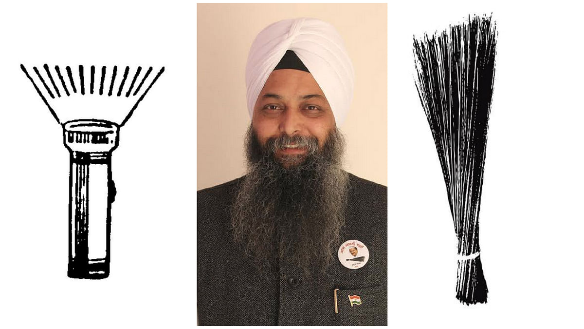 AAP's Jarnail Singh complained to the EC about another candidate named Jarnail Singh whose election symbol was similar to the broom. (Photo: AAP website)