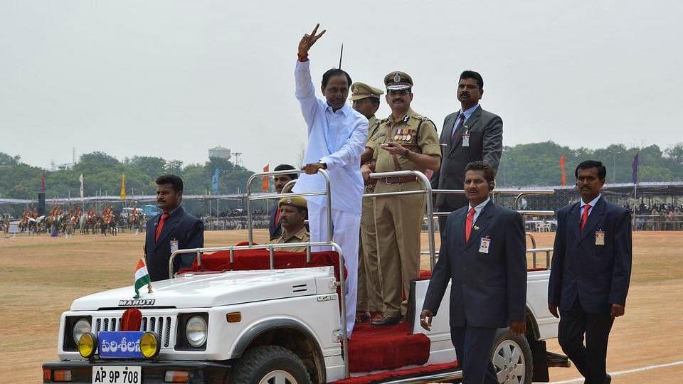 Telangana Chief Minister K Chandrasekhar Rao. (Photo: Reuters)