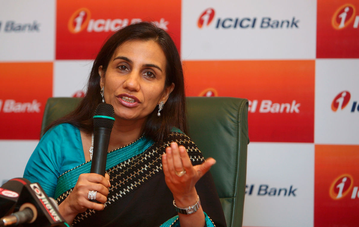 ICICI Bank's Chief Executive Officer designate Chanda Kochhar speaks during a news conference in Mumbai (Photo: Reuters)