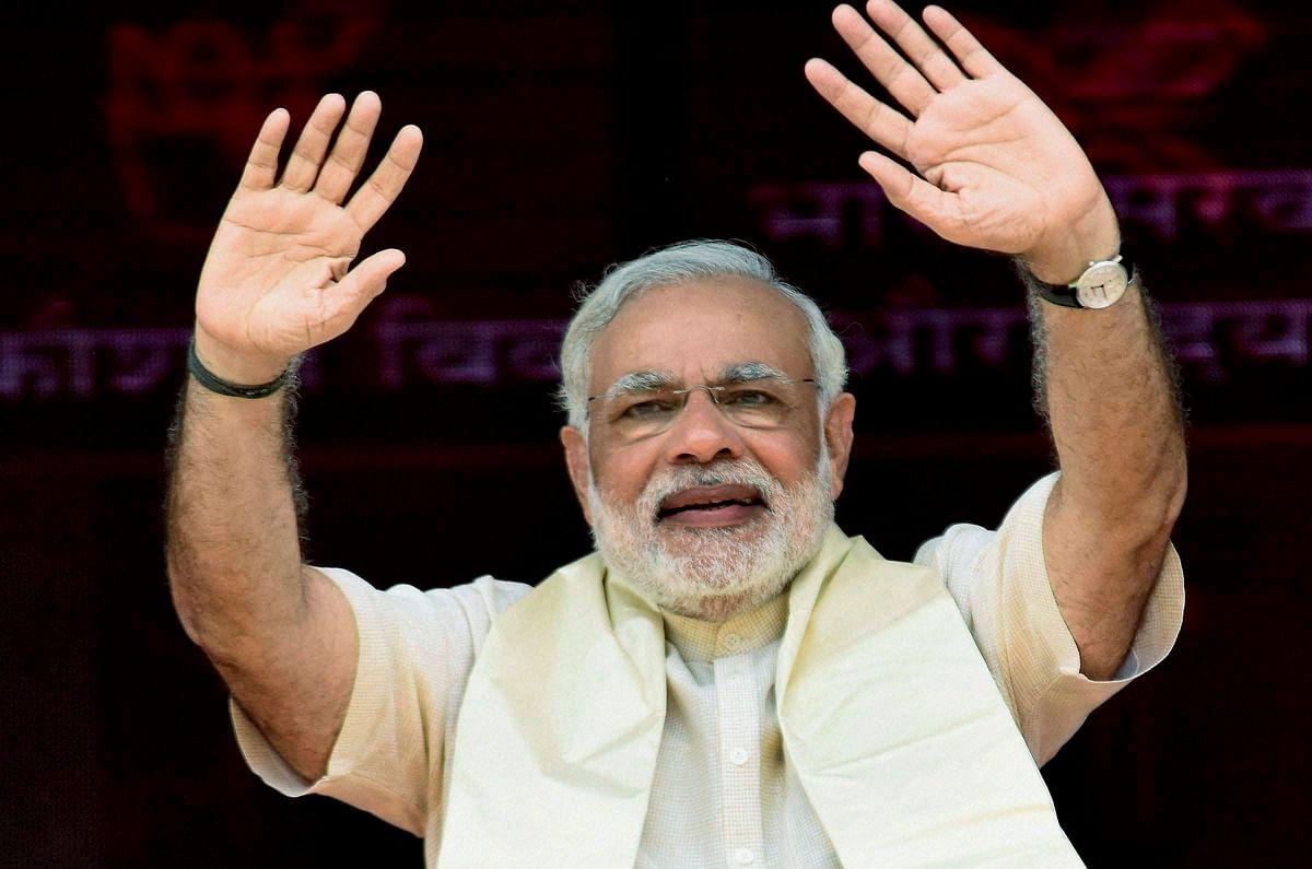 The Narendra Modi effect is still in play in Bihar. (Photo: PTI)