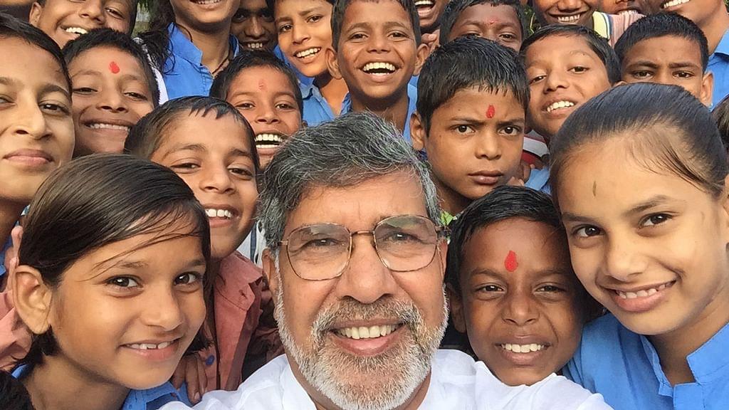 "File photo of Kailash Satyarthi celebrating Independence day. (Photo: Facebook/<a href=""https://www.facebook.com/KailashSatyarthi/photos_stream"">Kailash Satyarthi</a> )"