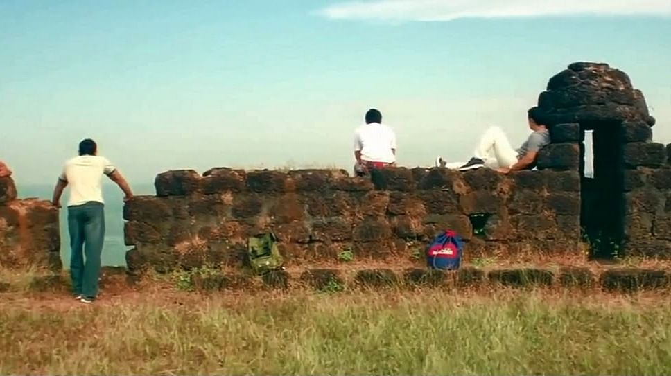 """The famous fort scene from the movie Dil Chahta Hai. (Photo: <a href=""""http://ajaysharda.blogspot.in/"""">Indian Wandering Blogger</a>)"""