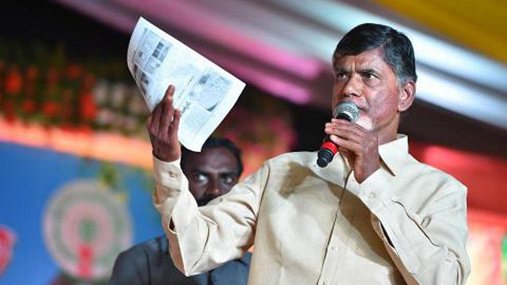 Andhra Pradesh Chief Minister N Chandrababu Naidu.