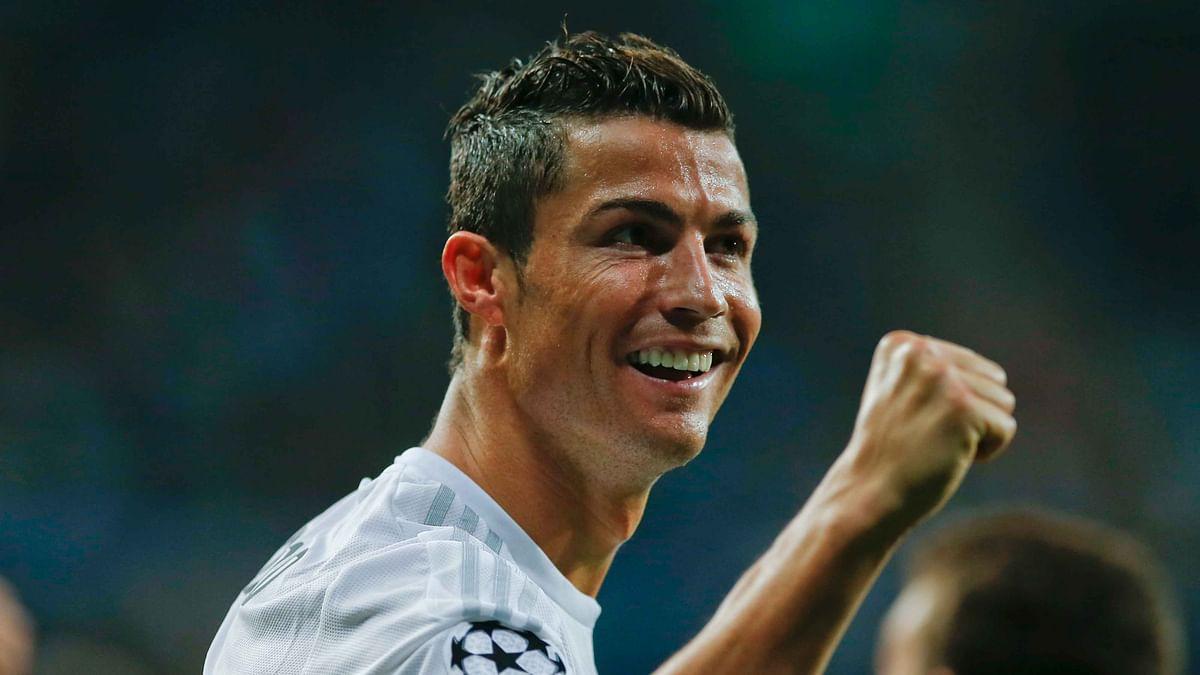 File photo of Real Madrid's Cristiano Ronaldo.