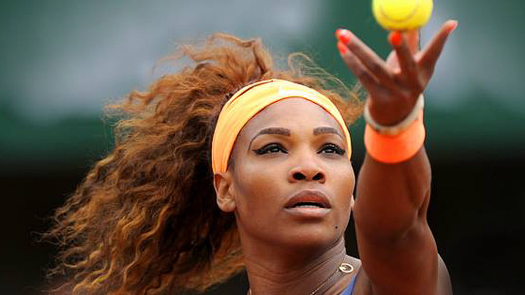 File photo of Serena Williams who will be making her Grand Slam return on Tuesday at the French Open