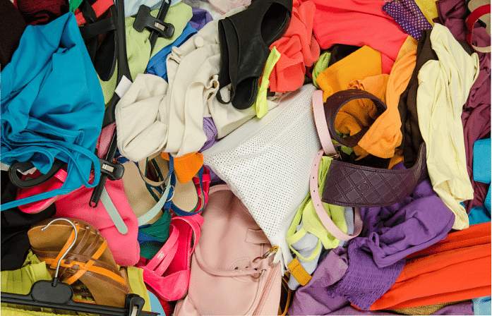 It takes twice as long to find specific items as you will have to rummage through the big pile of belongings strewn everywhere (Photo: iStock)