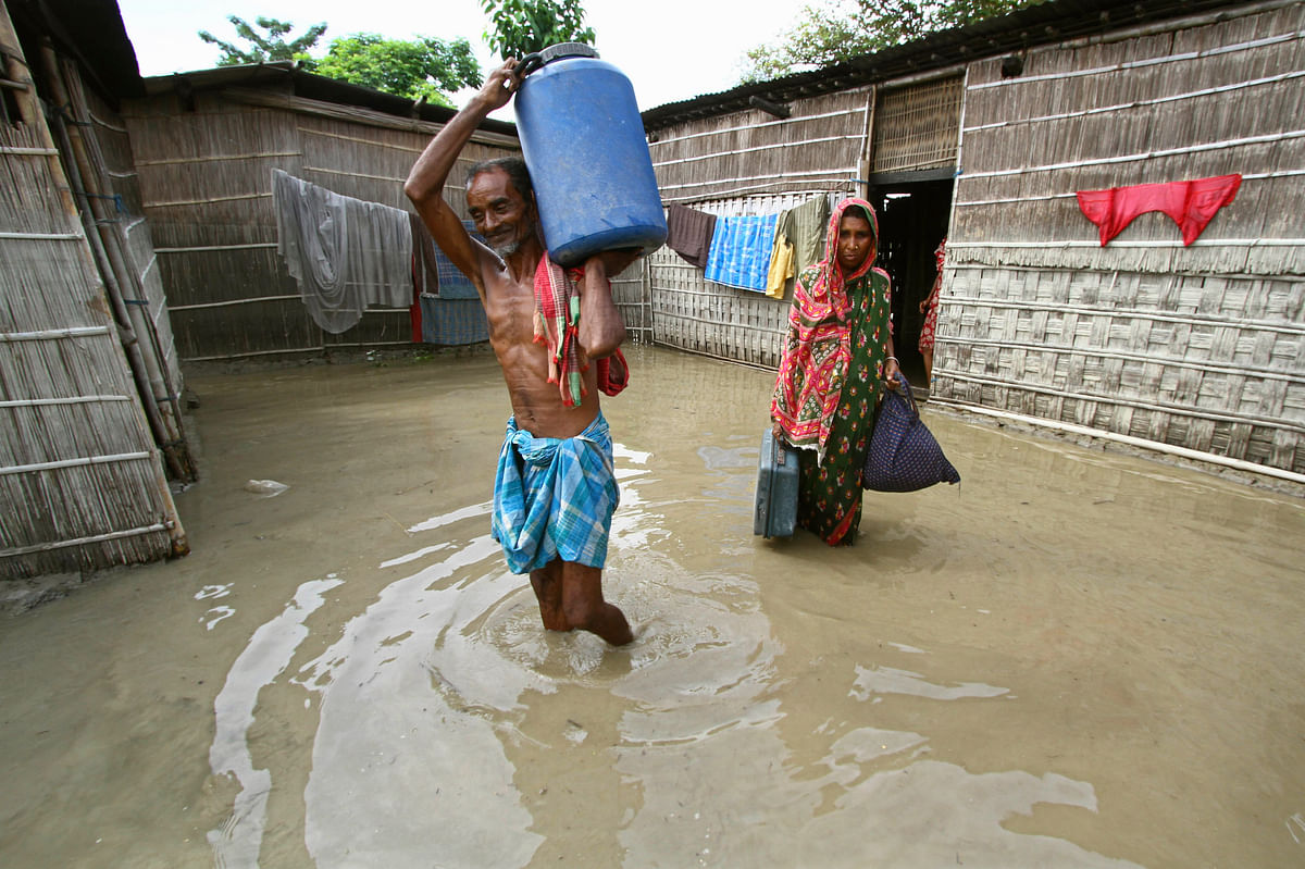 Heavy floods and drought conditions in Assam have only made matters worse for tea producers and plantation workers. (Photo: Reuters)