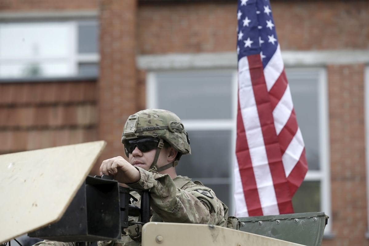 At 20 years, US retirement policy grants 50% of last pay. Soldiers get 100% of their last pay if they serve for 40 years or more. (Photo: Reuters)