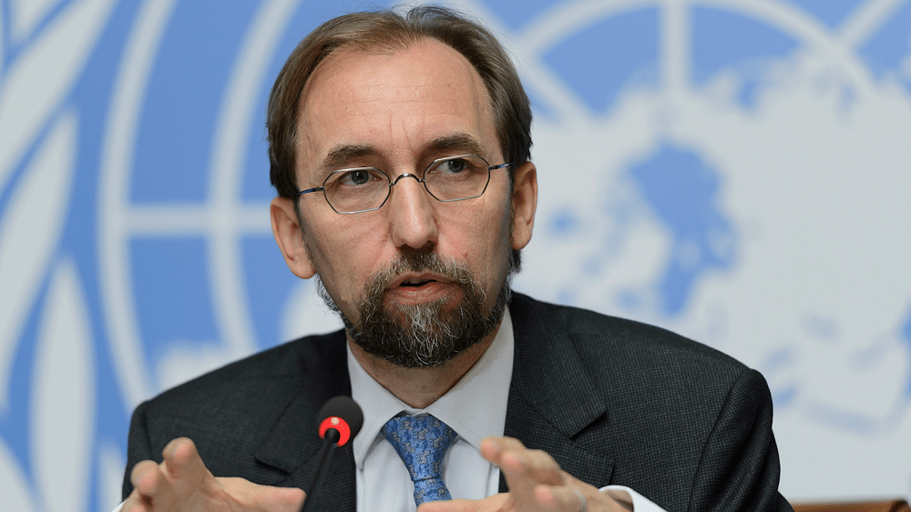 UN High Commissioner for Human Rights, Zeid Raad al-Hussein (Photo: AP)
