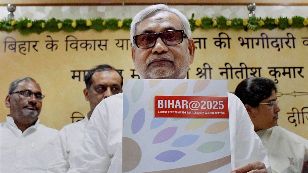 Nitish is the most popular choice for chief minister, according to the survey. (Photo: PTI)