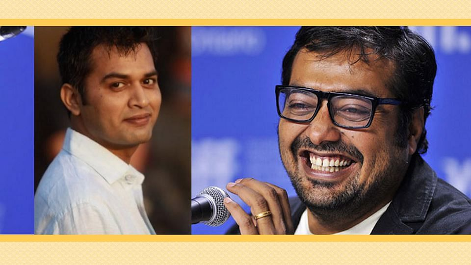 "Director Neeraj Ghaywan reveals the sensitive and fun side of his mentor Anurag Kashyap. (L: Twitter/<a href=""https://twitter.com/JagranNews/status/623106575842959361"">@JagranNews</a>; R: <a href=""https://twitter.com/Ganeshkewl888/status/599929652468011008"">@Ganeshkewl888</a>)"
